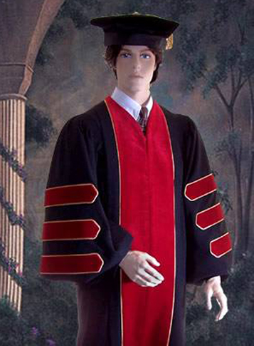 doctor of divinity robe