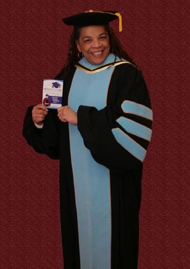 DR OF EDUCATION GRADUATION GOWN