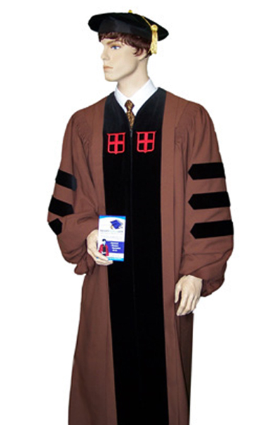 brown university doctoral regalia