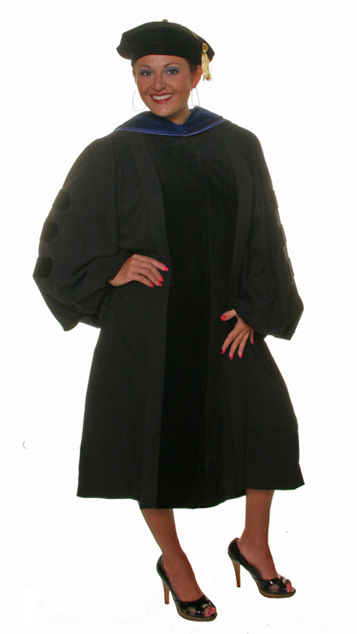 doctoral academic attire