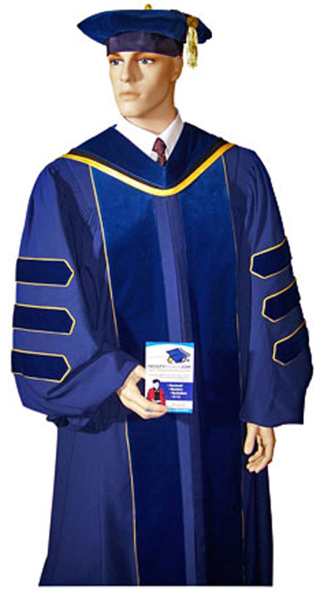 UCLA Doctoral Gown